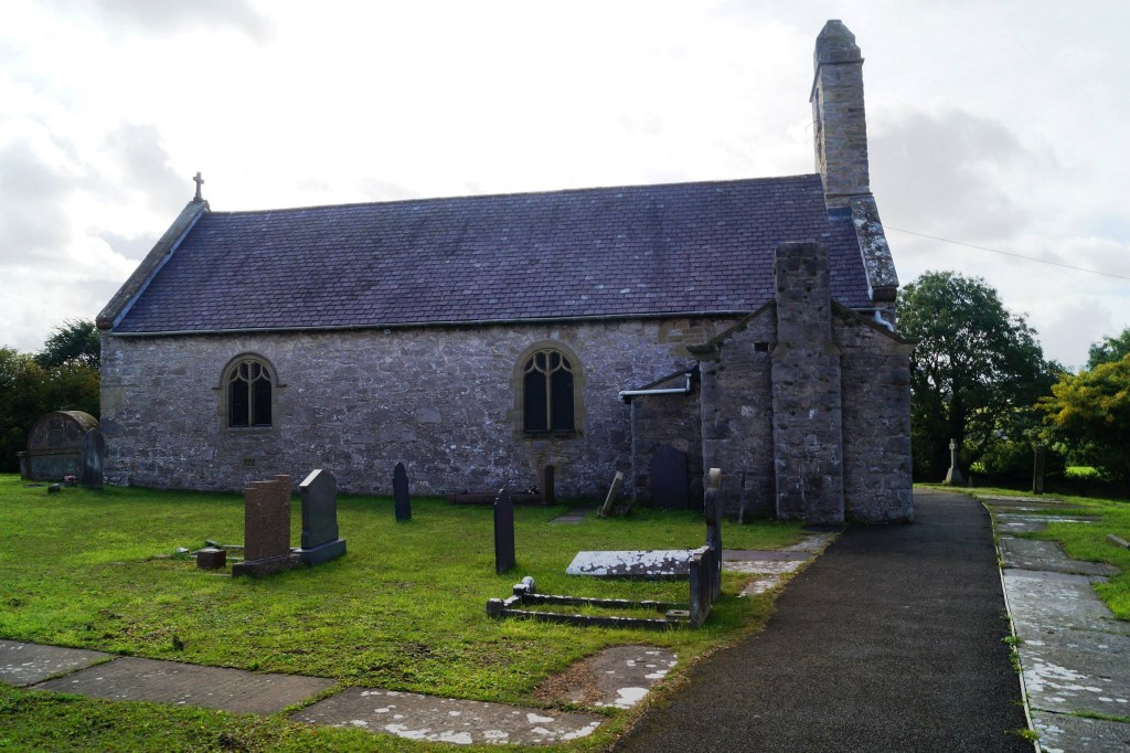 trelawnyd church outside